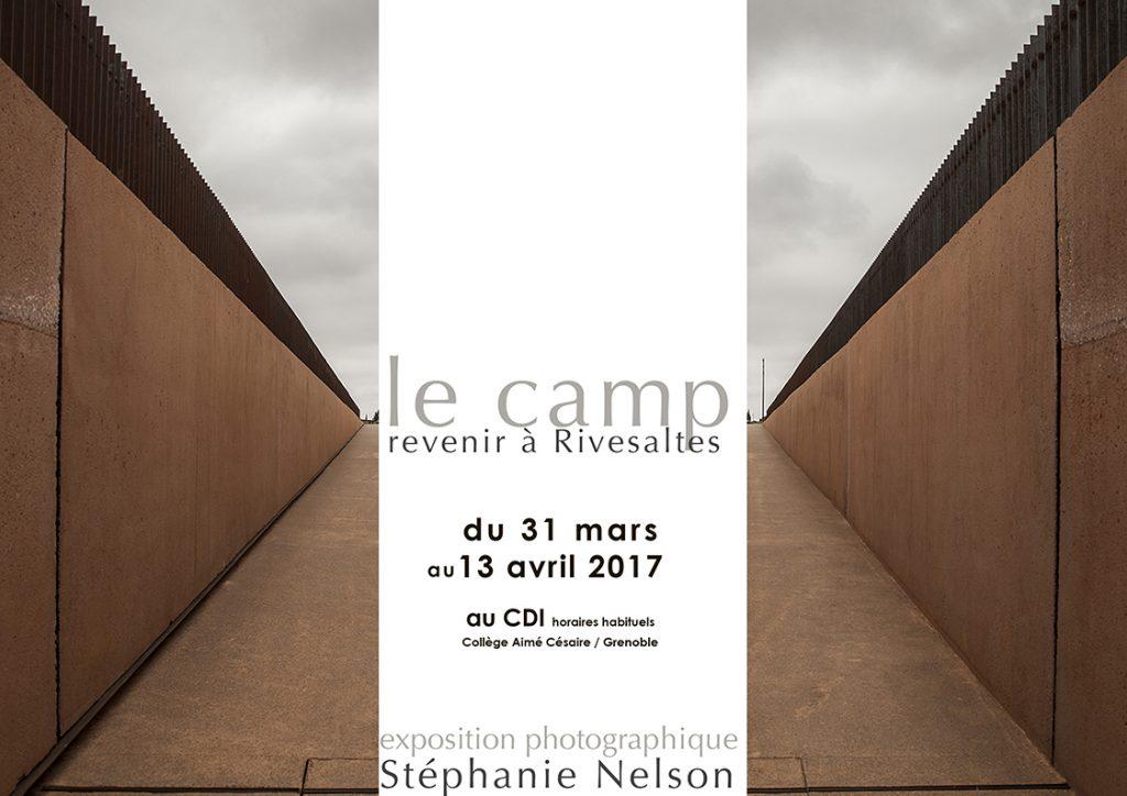 AFFICHE LE CAMP COLLEGE A CESAIRE