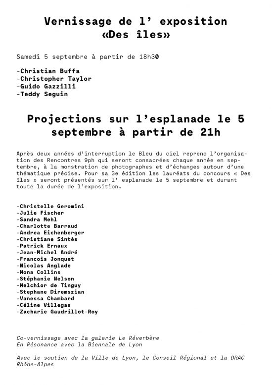 Invitation Rencontres 9 ph-verso