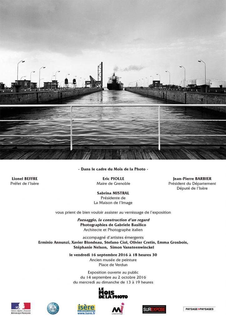 Invitation Mois de la Photo Grenoble 2016