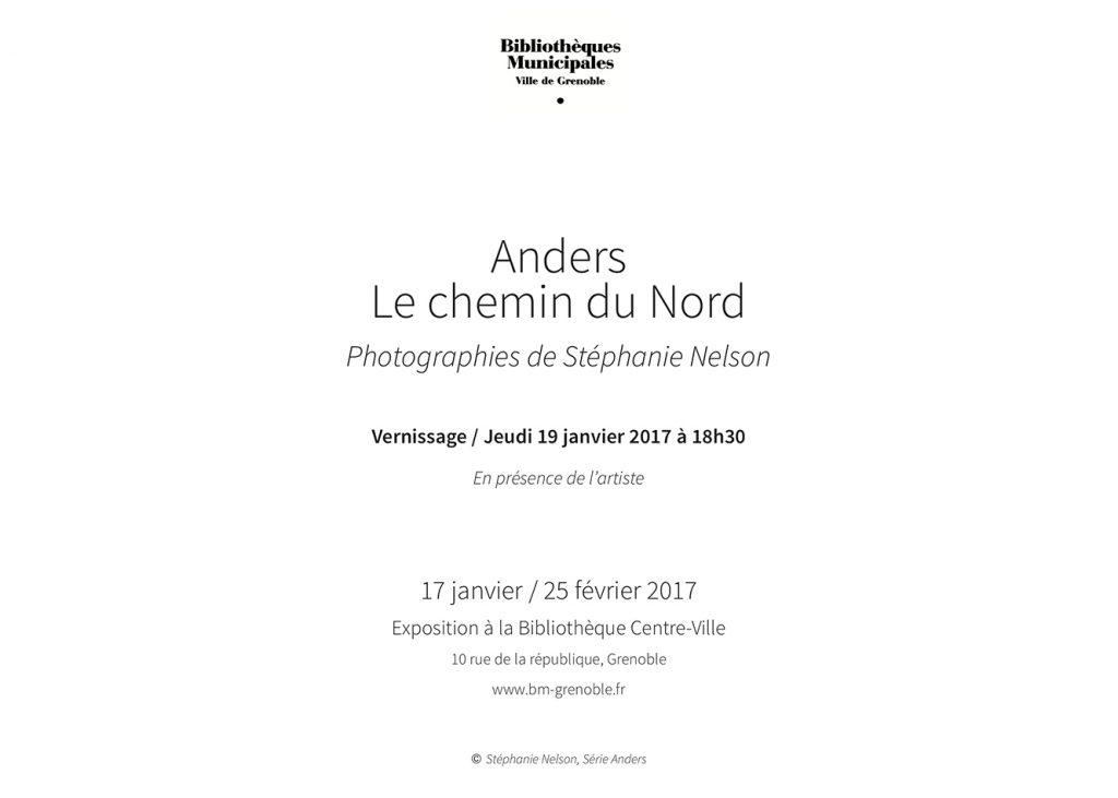 Invitation ANDERS bibliotheque centre ville Grenoble 2017