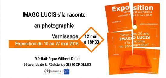 Invitation 20 ans Imago Lucis 2016